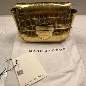 marc jacob rare gold crossbody bag